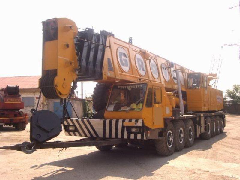 جرثقیل 140 تن گرو - Crane Grove TM 1400