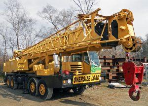 جرثقیل ۸۰ تن گرو -Crane Grove TM 875