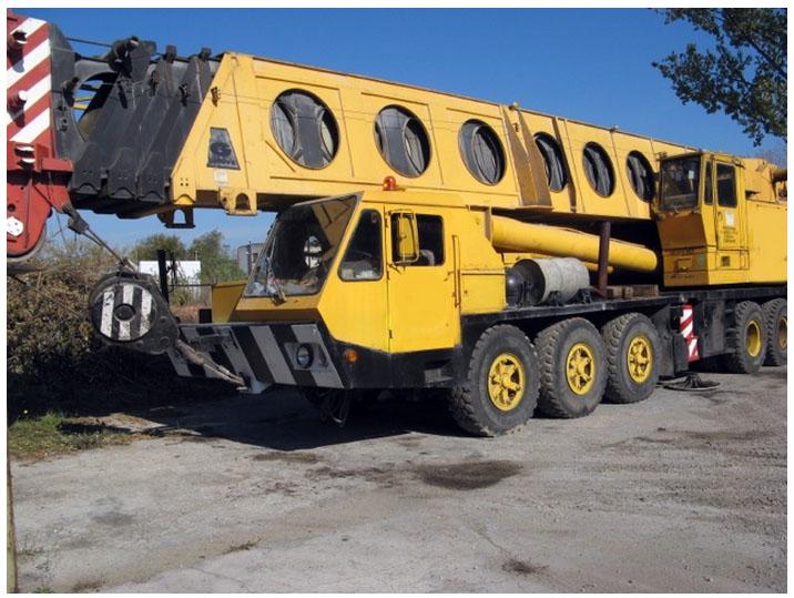 جرثقیل ۱۲۰ تن گرو – Crane Grove TM 1275
