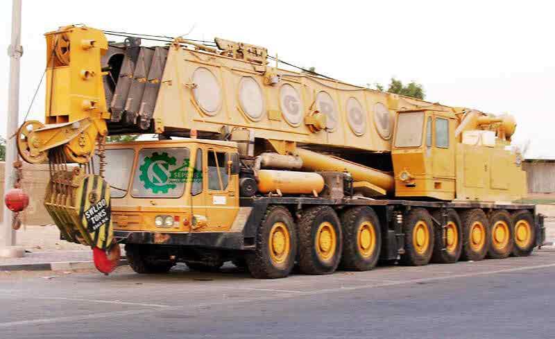 جرثقیل ۲۵۰ تن گرو – Crane Grove TM 2500