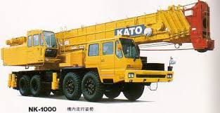 جرثقیل 100 تن کاتو - crane kato nk1000