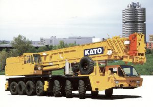 جرثقیل ۱۶۰ تن کاتو – crane kato nk1600