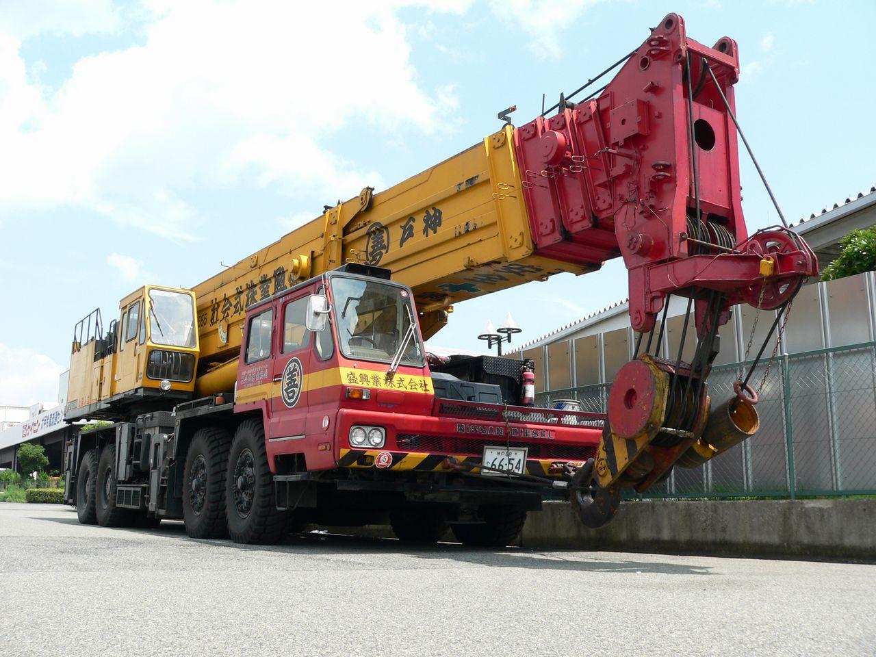 جرثقیل 160 تن تادانو – Tadano TG-1600M