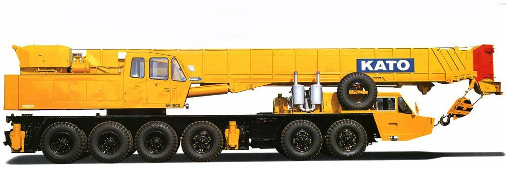 جرثقیل 120 تن کاتو - crane kato nk1200