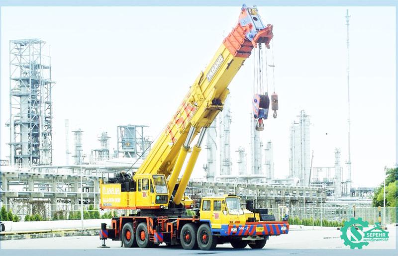 جرثقیل ۱۶۰ تن تادانو – Tadano TG-1600M
