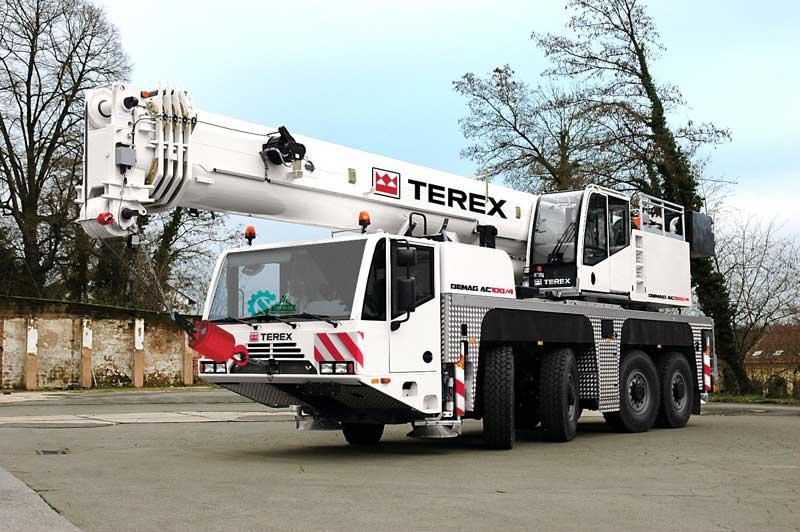 جرثقیل ۱۰۰ تن ترکس – Terex ac 100