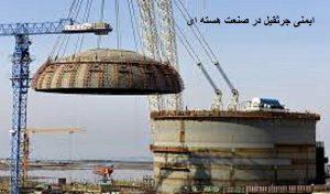 جرثقیل در صنعت هسته ای
